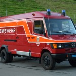 Chemiewehr-Bus Mercedes 1995