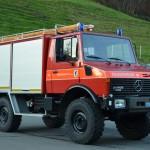 Pionier- und Pulverlöschfahrzeug Unimog 1980