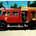 Tanklöschfahrzeug Mercedes 1964