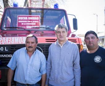 TLF 1981 Unimog ist in Argentinien im Einsatz