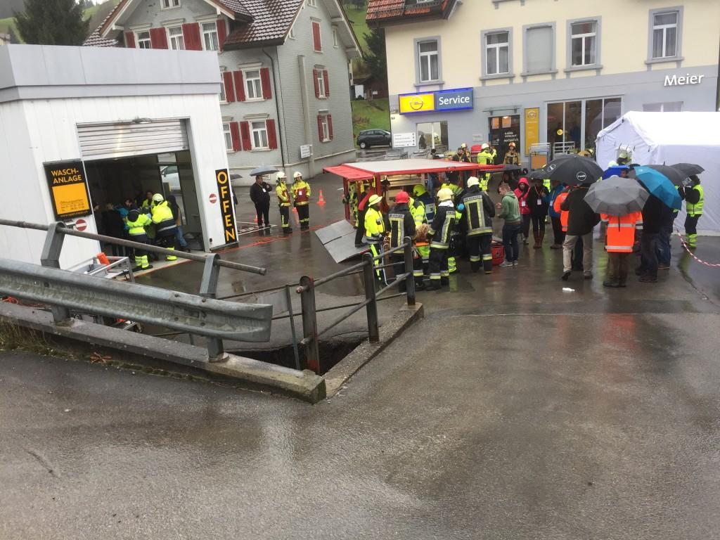 Sanitätshilfsstelle des SVRW (Feuerwehr Wil)