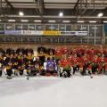 Hockeymatch gegen SVRG